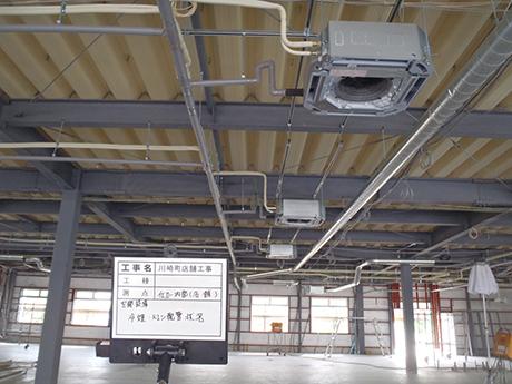 川崎商業複合施設新築工事
